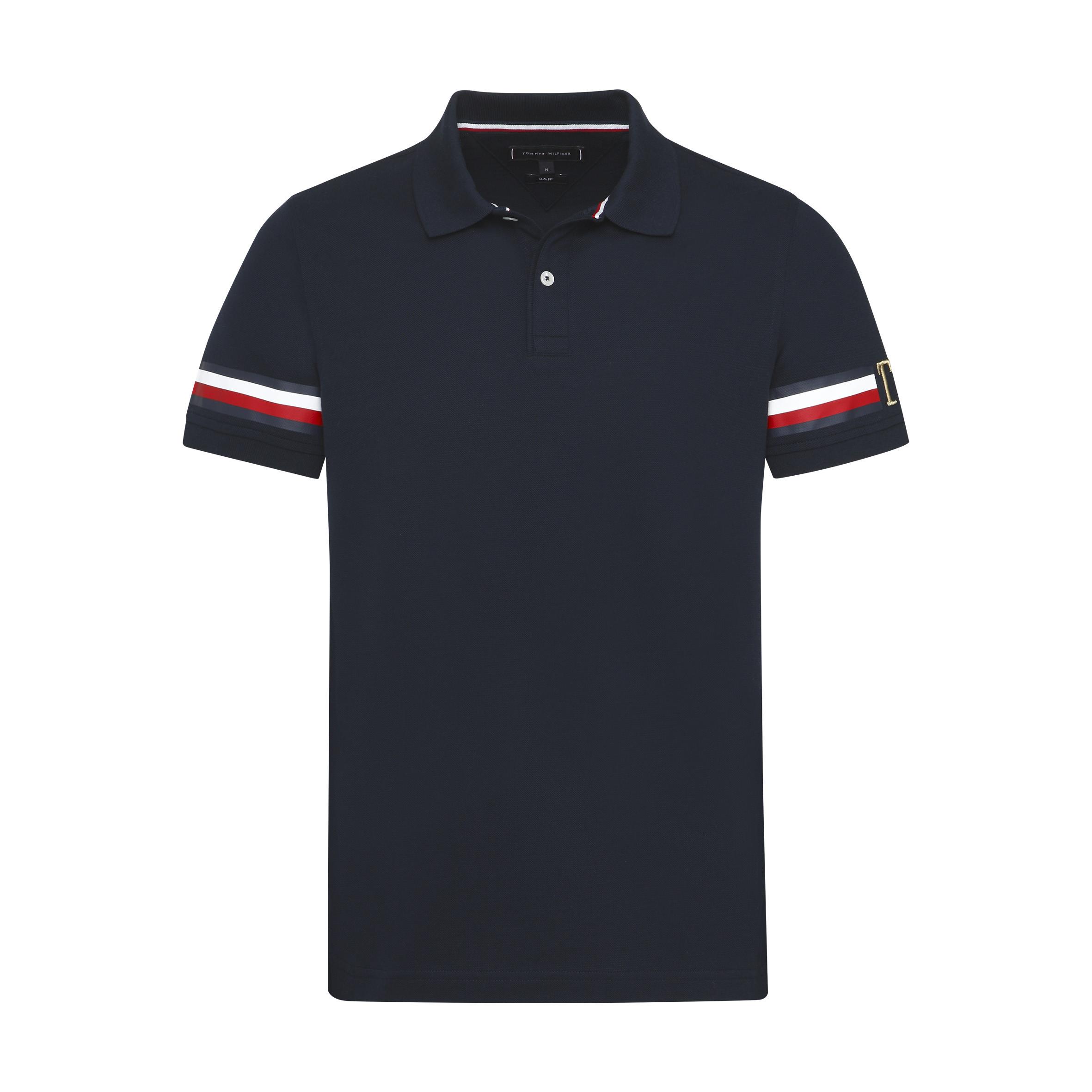 c1c1c2df Icon Sleeve Stripe S - T-skjorter & piqué - Herre