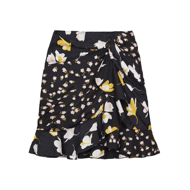 bbd15de6 Mixed Floral Ruffle Skirt Mixed Floral Ruffle Skirt ...