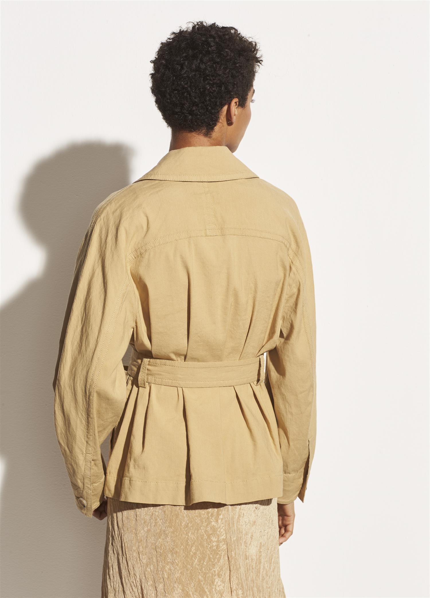 Belted Drape Jacket Vince Merker