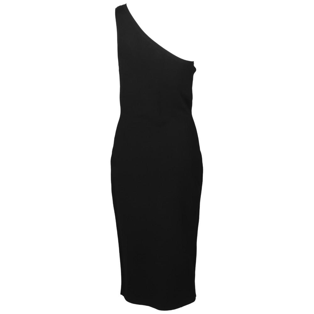 1b15d781d7e7 One Shoulder Knit Dress - Kjoler - Dame
