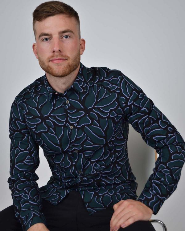 Dino' Print Organic Cotton T Shirt T skjorter Overdeler